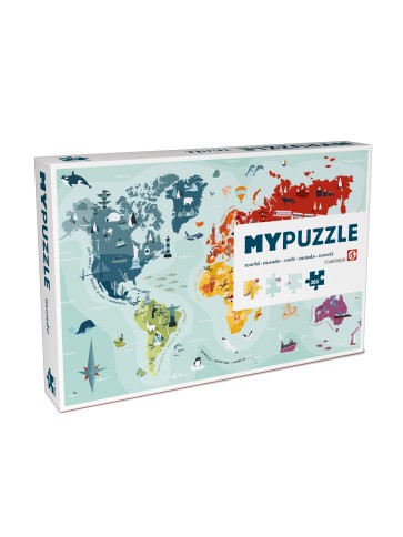 My puzzle world box